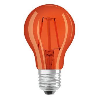 Osram LED E27 2 Watt Orange 50 Lumen