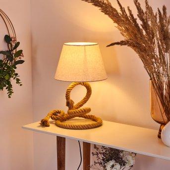 Lampe de table Makondo Brun, 1 lumière