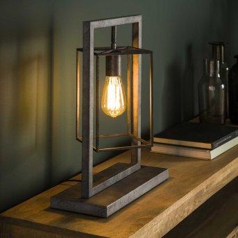 Lampe de table Marcon Argenté, 1 lumière