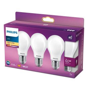 LED E27 60 Watt 2700 Kelvin 806 Lumen Philips