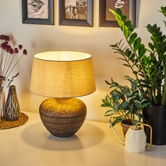 Lampe de table Exchange Brun, Blanc, 1 lumière