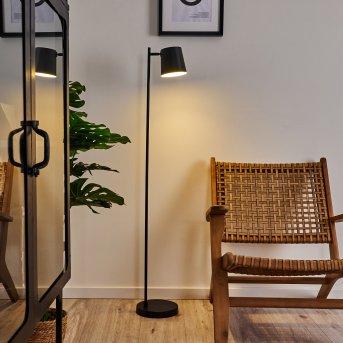 Lampadaire Tontolos LED Noir, 1 lumière