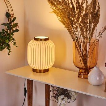 Lampe de table Dyce Or, 1 lumière