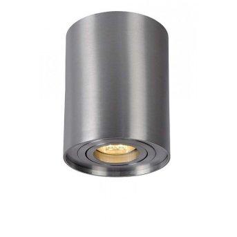 Spot Lucide TUBE Nickel mat, 1 lumière