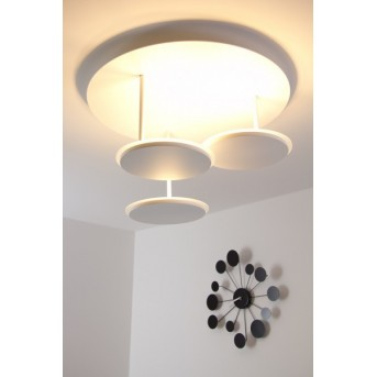 Plafonnier LED TURN Blanc, 3 lumières