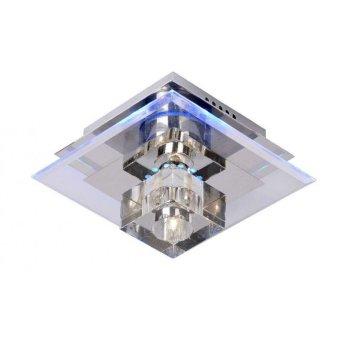Plafonnier Lucide CRISTY Blanc, 1 lumière, Changeur de couleurs
