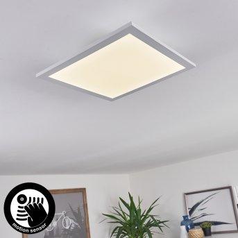 Plafonnier Sordos LED Blanc, 1 lumière, Détecteur de mouvement