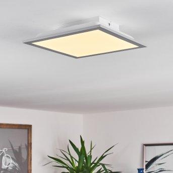 Plafonnier Farc LED Argenté, 1 lumière