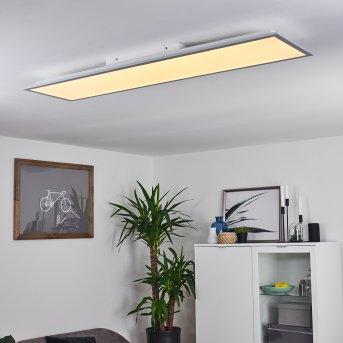 Plafonnier Nexo LED Blanc, 1 lumière