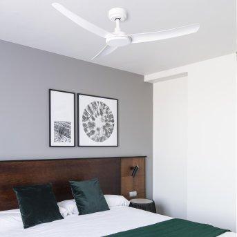 Ventilateur de plafond Faro Barcelona Siros Blanc, Télécommandes