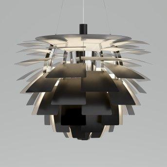 Suspension Louis Poulsen PH Artichoke LED Acier inoxydable, 1 lumière