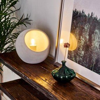 Lampe de table Belltal Gris, 1 lumière
