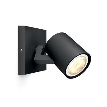 Projecteur Philips Hue Ambiance White Runner LED Noir, 1 lumière