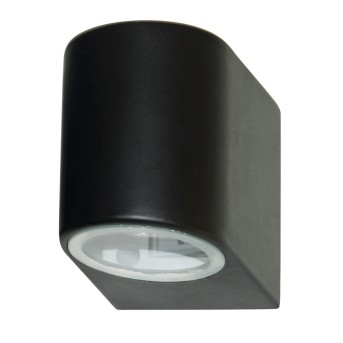 Lampe d'extérieur Searchlight ODU LED Noir, 1 lumière