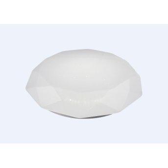 Plafonnier Mantra DIAMANTE SMART LED Blanc, 1 lumière, Télécommandes