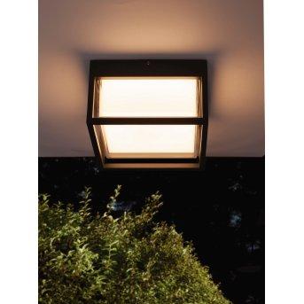 plafonnier extérieur Mantra CHAMONIX LED Gris, 1 lumière