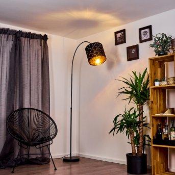 Lampe à arc Arnoya Noir, 1 lumière