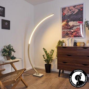 Lampadaire Uttorp LED Argenté, 1 lumière