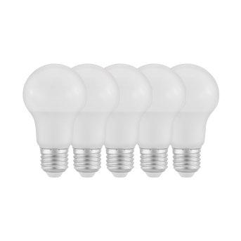 Eglo 5x Set LED E27 9 Watt 2700 Kelvin 806 Lumen