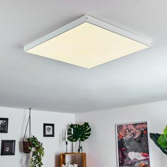 Panneau LED Pedemonte Blanc, 1 lumière