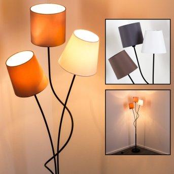 Lampadaire FLIN Noir, 3 lumières