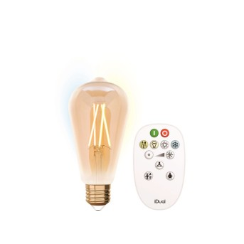 Lutec IDUAL LED E27 9 Watt 5500 Kelvin 806 Lumen