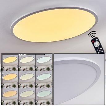 Panneau LED Sani Blanc, 1 lumière, Télécommandes
