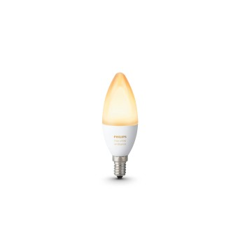 LED Ambiance White E14 6 Watt 6500 Kelvin 470 Lumen Philips Hue