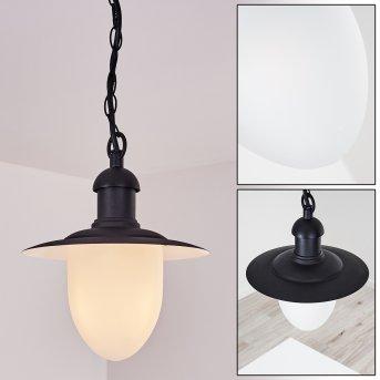 Lampe d'extérieur Surnu Noir, 1 lumière