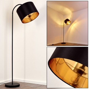 Lampadaire Pattburg Noir, 1 lumière