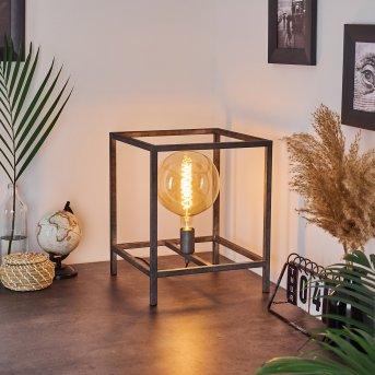 Lampe de table Takoi Argent Oxydé, 1 lumière