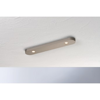Plafonnier Bopp-Leuchten CLOSE LED Brun, 2 lumières