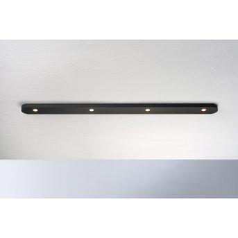 Plafonnier Bopp-Leuchten CLOSE LED Noir, 4 lumières