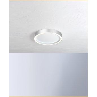 Plafonnier Bopp-Leuchten AURA LED Argenté, Blanc, 1 lumière