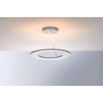 Plafonnier Bopp-Leuchten STELLA LED Argenté, Blanc, 4 lumières
