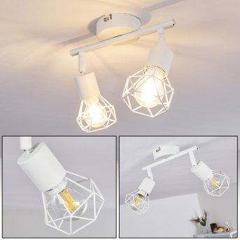Plafonnier Baripada Blanc, 2 lumières