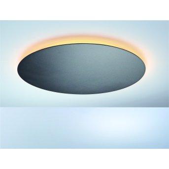 Plafonnier Escale BLADE LED Anthracite, 1 lumière