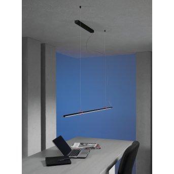 Suspension Escale SLIMLINE LED Noir, 1 lumière