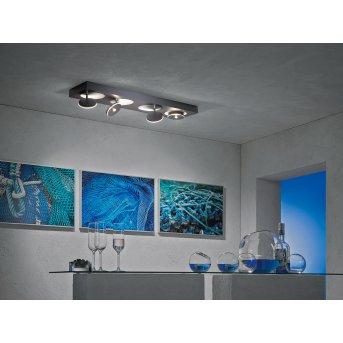 Plafonnier Escale SPOT IT LED Anthracite, 4 lumières