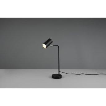 Lampe de table Trio Marley Noir, 1 lumière