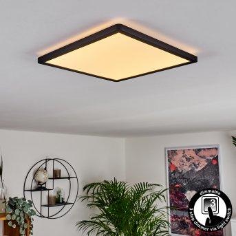 Panneau LED Boyero Noir, 1 lumière