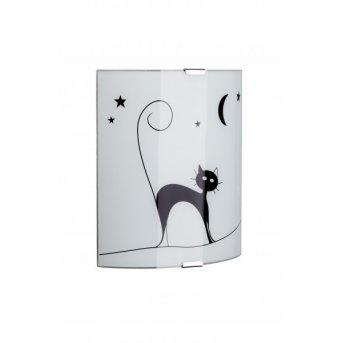 Applique murale Brilliant Cat Blanc, 1 lumière