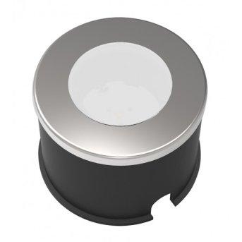 Spot encastrable Lutec HONY DECK LED Gris, 1 lumière