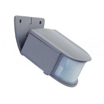 Détecteur de mouvement Lutec sun connec LED Gris, Détecteur de mouvement