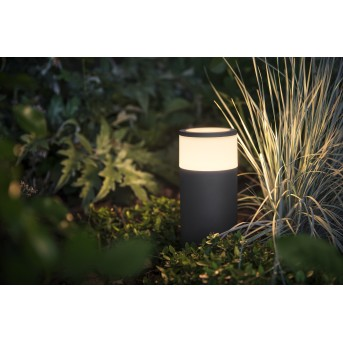 Borne d'éclairage, kit de base Philips Hue Ambiance White & Color Calla LED Noir, 1 lumière, Changeur de couleurs