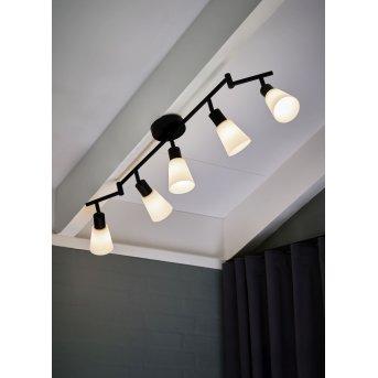 Plafonnier Nordlux COLE Noir, 5 lumières
