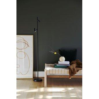 Lampadaire Nordlux OMARI LED Noir, 2 lumières