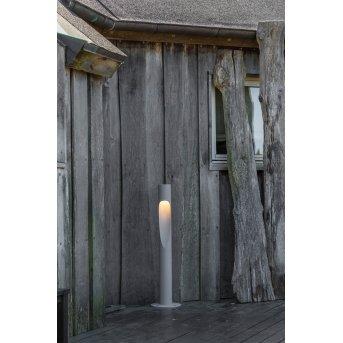 Borne lumineuse Louis Poulsen Flindt LED Aluminium, 1 lumière