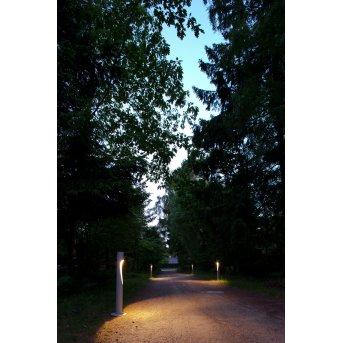 Borne d'éclairage Louis Poulsen Flindt LED Aluminium, 1 lumière