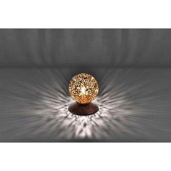 Lampe à poser Paul Neuhaus GRETA Rouille, 1 lumière